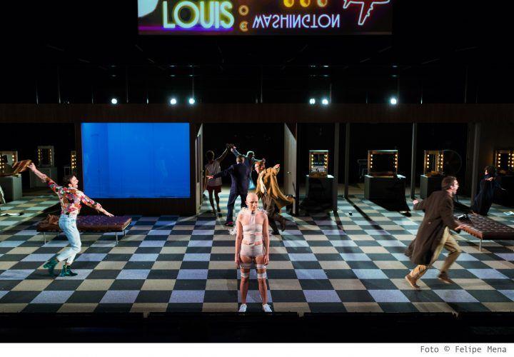 Àngels a Amèrica - Teatre Lliure - (c) Felipe Mena